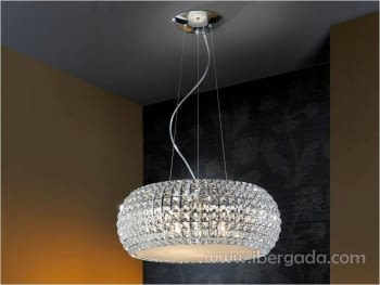 Colgante Diamond Grande LED