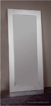 Espejo Rectangular Plata Vestidor (200x90)