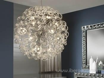 Colgante Nova Transparente 15L LED