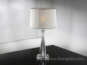 Sobremesa Lin Transparente LED