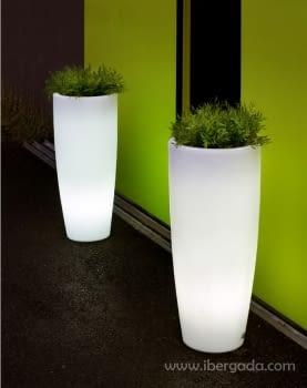 Macetero Bambu 90 Light (40x40x90)