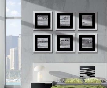 Cuadro Colección Blancos Cullera (40x40)