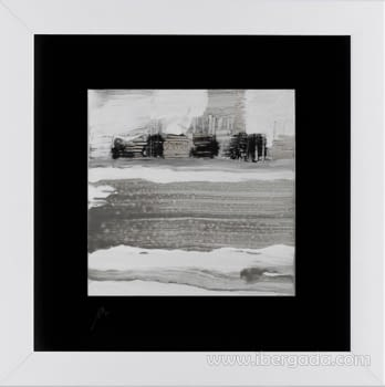 Cuadro Colección Blancos Cullera (40x40) - 1