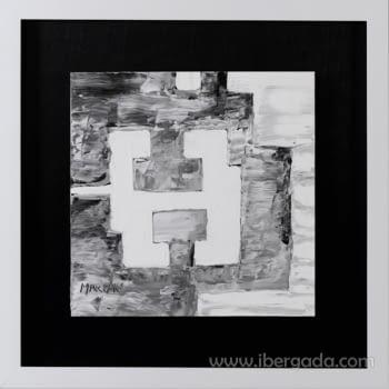 Cuadro Colección Chillida Marpau (65x65) - 2