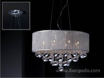 Colgante Andromeda 8L LED