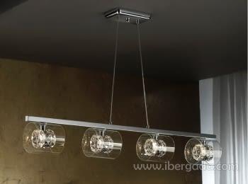 Colgante Flash 4L LED