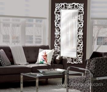 Espejo Anatole Barroco Plata (178x90)