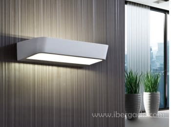 Aplique Megan Blanco LED