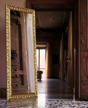 Espejo Vestidor Gaudí Oro (180x80)