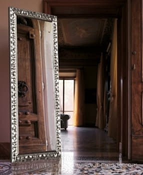 Espejo Vestidor Gaudí Plata (180x80)