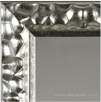 Espejo Vestidor Gaudí Plata (180x80) - 2