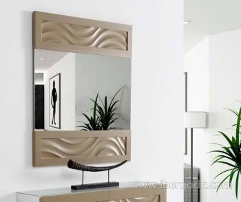 Espejo Mediterráneo Panel Arcilla (100x90)