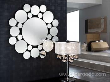 Espejo Leila Redondo (80x80)