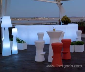 Barra de Bar Ibiza 120 Con Luz - 1