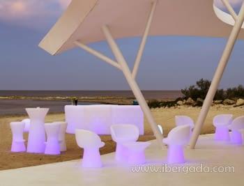 Barra de Bar Ibiza 120 Con Luz - 3