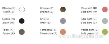 Cama Formentera Color (164x164x65) - 2