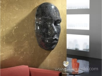 Máscara Faz Cristal Negro