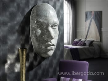 Máscara Faz Espejo Plata