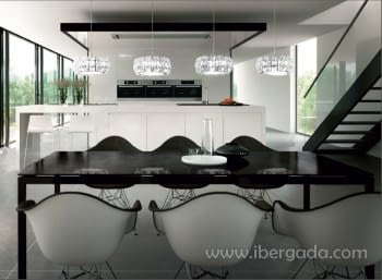 Colgante Corliano Cromo 4L LED - 1