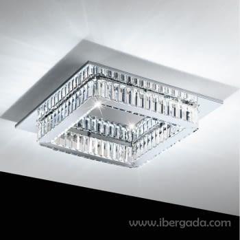 Plafón Corliano Cuadrado LED