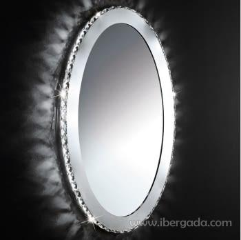 Espejo Toneria Oval LED (81x51)