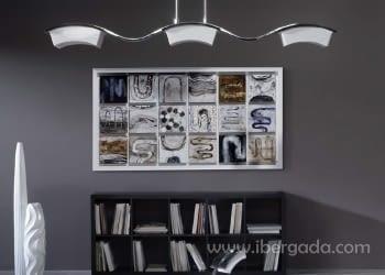 Cuadro Dihuit Lacado Blanco (150x80) - 1