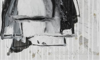 Cuadro Noir de Fleurs - 2