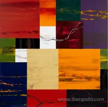 Cuadro Abstracto Colores - 2
