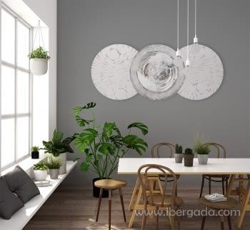 Cuadro Esferas Etna (180x90)