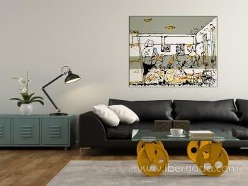 Cuadro Marsella Marpau (130x100) - 1