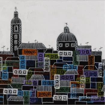 Cuadro City of Colours - 2