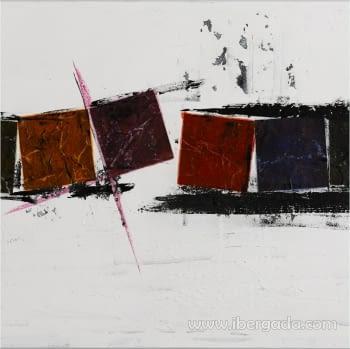 Cuadro Cubes Colours II - 1