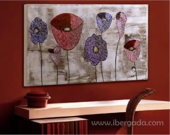 Cuadro Tulipanes Collage