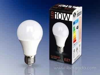 Bombilla LED E27 10W Luz Blanca
