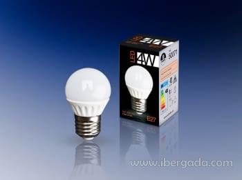 Bombilla LED E27 4W Luz Blanca