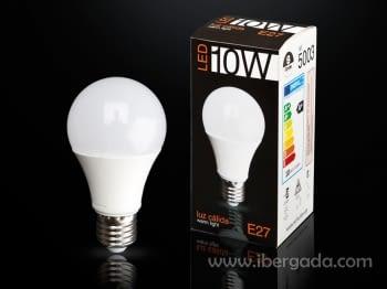 Bombilla LED E27 10W Luz Cálida