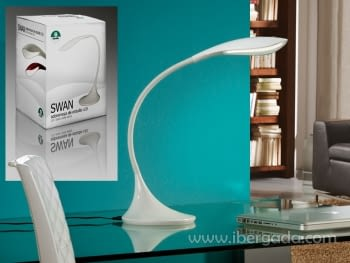 Sobremesa Swan Blanco LED