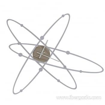 Reloj de Pared New Atomo (71x61)