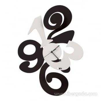 Reloj de Pared Balgor Negro (46x34)