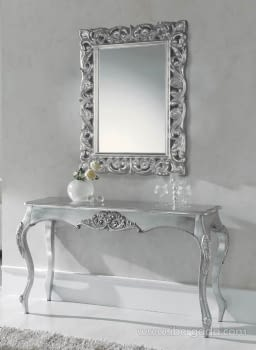 Espejo Barroco Liris Plata (95x75)