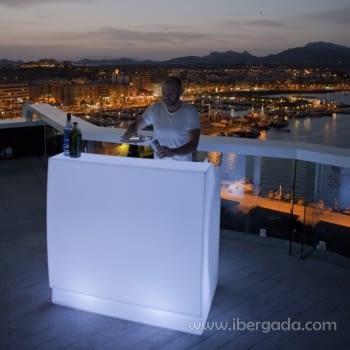 Barra de Bar Sicilia 120 Con Luz