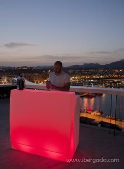 Barra de Bar Sicilia 120 Con Luz - 1