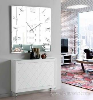 Reloj de Pared Murano Cuadrado