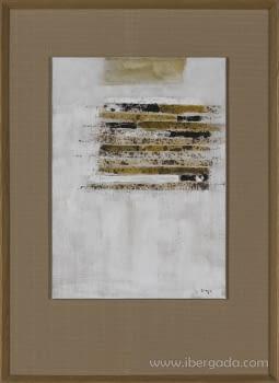 Cuadro Carta Blanca II Roble (110x80)