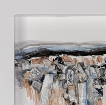 Cuadro Bressol II Blanco (70x70) - 3