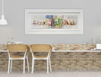 Cuadro Munch Colores  (180x80)