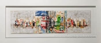 Cuadro Munch Colores  (180x80) - 1