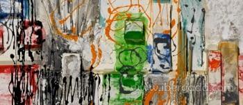 Cuadro Munch Colores  (180x80) - 3