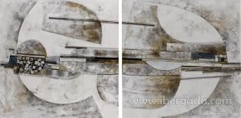 Cuadro Díptico Aker - 1
