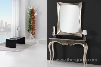 Consola Isabelina Gris/Champagne